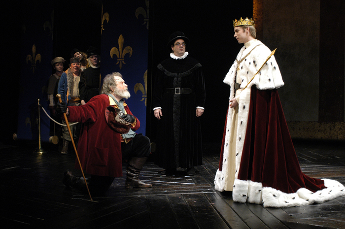 hal and falstaff In henry iv, part 2, falstaff and his disreputable crew are rejected by hal, now henry v, as he assumes the dignities of the crown falstaff's death is movingly reported in henry v , but he makes another appearance in the merry wives of windsor , a play that, according to (largely unsupported) tradition, was written at the express command of.